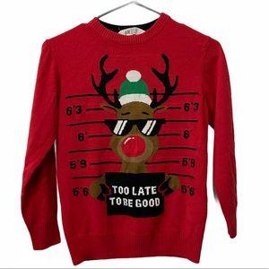 5/$20 H&M Reindeer Christmas Sweater